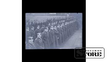 Открытка, Солдаты в шеренге, 38.
