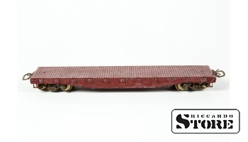 Model Train Rtr Athearn 1399 Undecorated 50' Flat Car Unpainted