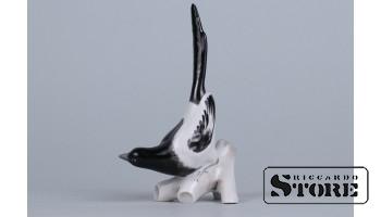 Фарфоровая статуэтка «Сорока»