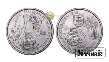 Португалия , 200 эскудо, 1998 год (Путешествие Васко да Гамы в Индию 1498 года - Южная Африка, Наталь)