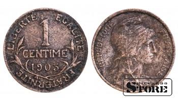 Франция , 1 сантим 1903 год