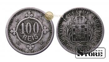 Португалия , 100 рейс  - 1900 год , Королевство Португалия (1836 - 1910)