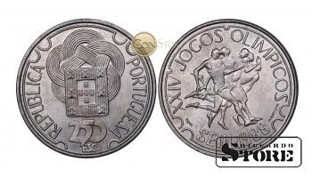 Португалия , 250 эскудо 1988 год (XXIV летние Олимпийские Игры, Сеул 1988)