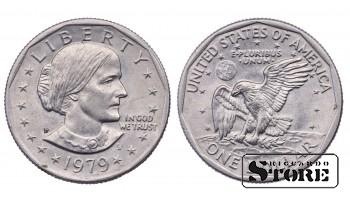 1 ДОЛЛАР США 1979 ГОД KM# 207
