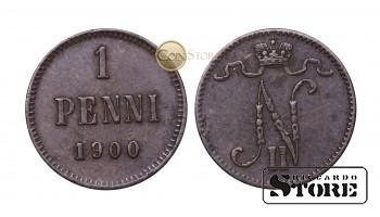 ФИНЛЯНДИЯ , 1 ПЕННИ 1900 ГОД
