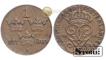 Швеция , 1 эре 1934 год