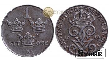 Швеция , 1 эре 1919 год