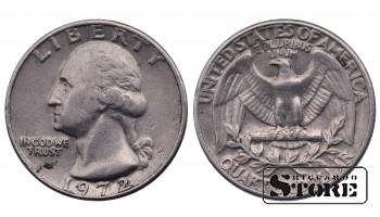 1/4 ДОЛЛАРА 1972 ГОД
