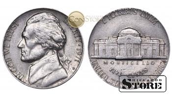 Монеты США , 5 центов - 1971 год D