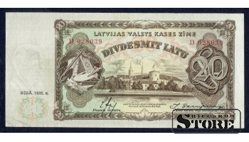 БАНКНОТА , 20 ЛАТ 1935 ГОД - D028039