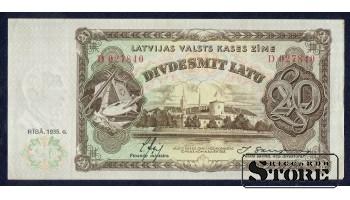 БАНКНОТА , 20 ЛАТ 1935 ГОД - D027840