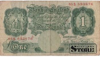 Англия 1 фунт