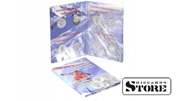 """Мини-альбом для четырех 25-рублевых монет и одной 100-рублевой банкноты серии """"XXII Олимпийские зимние игры и XI Паралимпийские зимние игры 2014 года в г. Сочи"""""""
