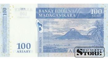 100 ариари Мадагаскара