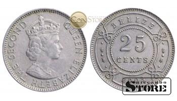 Белиз , 25 центов 2003 год
