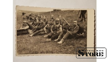 Довоенная Латвийская армия на учениях