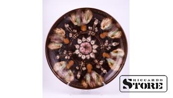 Sienas šķīvis, keramika, 30 cm