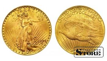 20 долларов 1924 год