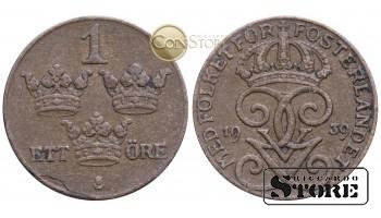 Швеция , 1 эре 1939 год