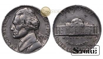 Монеты США , 5 центов - 1981 год