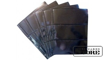"Лист двусторонний для бон или другого коллекционного материала на 6 ячеек, стандарт ""Optima"", размер 200х250 мм"