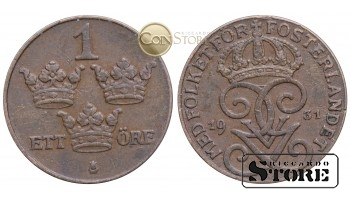 Швеция , 1 эре 1931 год