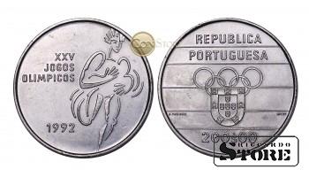 Португалия , 200 эскудо, 1992 год (XXV летние Олимпийские Игры, Барселона 1992)