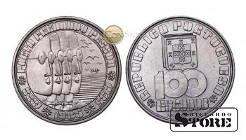 Португалия , 100 эскудо 1985г (50 лет со дня смерти поэта Фернандо Пессоа во Владивостоке)