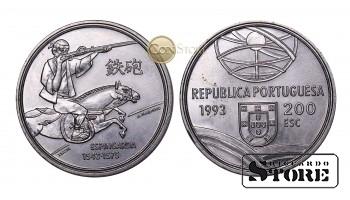 Португалия , 200 эскудо 1993 год (Спрингальд - механическое устройство артиллерии)