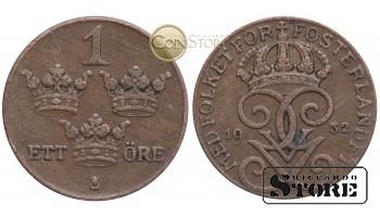 Швеция , 1 эре 1932 год