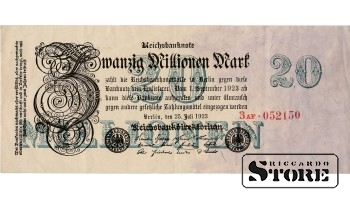 Zwanzig Millionen Mark