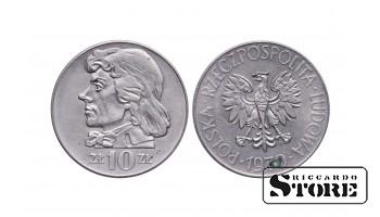 Польша, 10 злотых 1970 год - Тадеуш Костюшко.