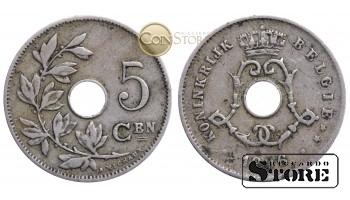 Бельгия, 5 центов 1906 год