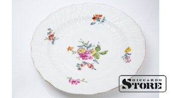 Тарелка сервировочная, ручная роспись