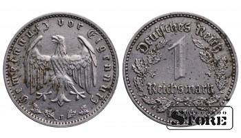 Монета Германия , 1 марки 1934 год , Серебро