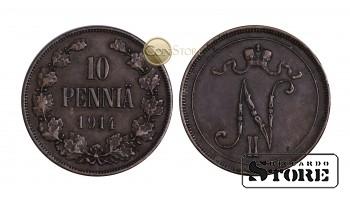Финляндия , 10 пенни 1914 год