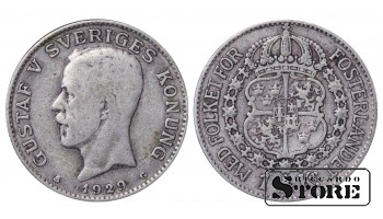 1929 Sweden King Gustav V (1908 - 1950) Coin Coinage Standard 1 krona KM# 786 #18