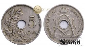Бельгия, 5 центов 1925 год