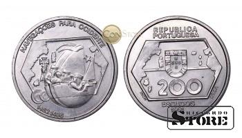 Португалия , 200 эскудо, 1991 год (Навигация на запад)