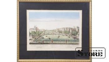 Мост через реку Амстел в Амстердаме