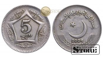 Пакистан , 5 рупий 2004 год