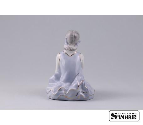 Фарфоровая статуэтка Балерина. Рижский фарфор. (Велта) Вид 3