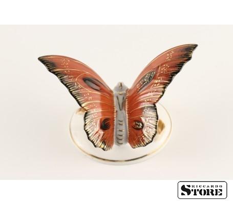 Фарфоровая статуэтка Бабочка, Алая, вид 4