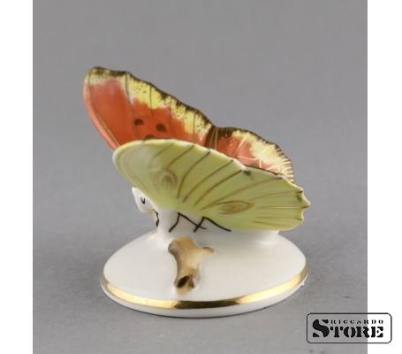 Фарфоровая статуэтка Бабочка, Пёстрая, вид 4