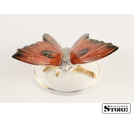Фарфоровая статуэтка Бабочка, Алая, вид 2