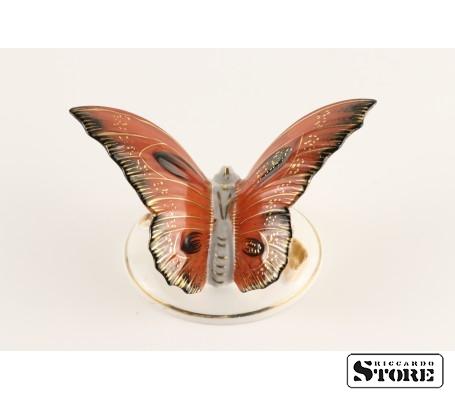 Фарфоровая статуэтка Бабочка, Алая, вид 1