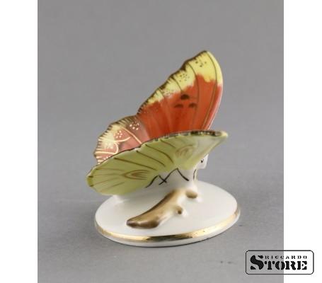 Фарфоровая статуэтка Бабочка, Пёстрая, вид 3