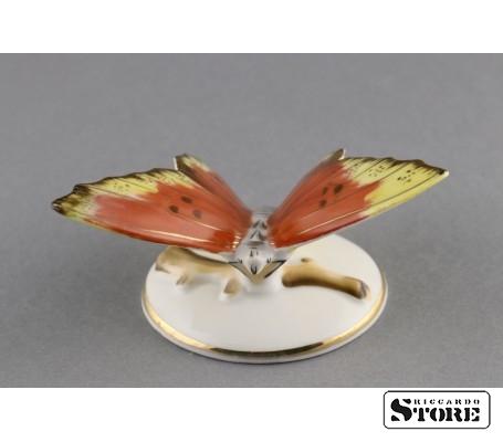 Фарфоровая статуэтка Бабочка, Пёстрая, вид 2