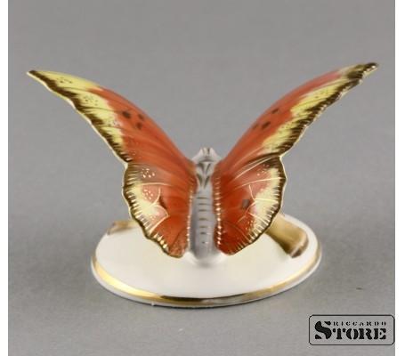 Фарфоровая статуэтка Бабочка, Пёстрая, вид 5