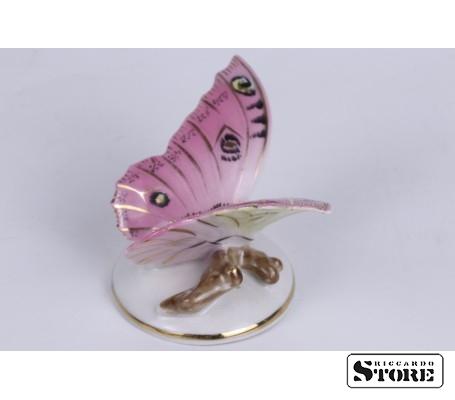 Фарфоровая статуэтка Бабочка Кузнецова вид 4